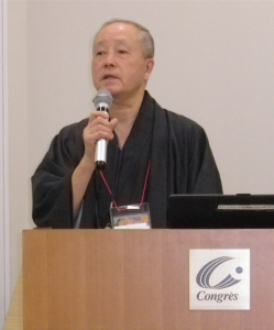 會田代表の講演